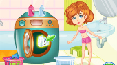 Clumsy Mechanic Laundry - jeu en ligne | Mahee.fr