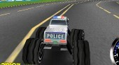 3D Police Monster Trucks