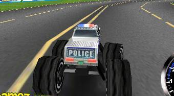 3D Police Monster Trucks - Game | Mahee.com
