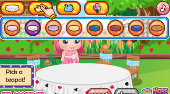 Baby Alice Tea Party - Game | Mahee.com