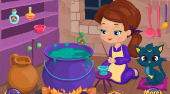 Baby Witch Magic Potion | Jeu en ligne gratuit | Mahee.fr