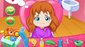 Baby Girl Hairdresser - Game | Mahee.com