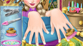 Elsa Nails Spa - online game | Mahee.com