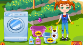 Clumsy Chef Laundry | Free online game | Mahee.com