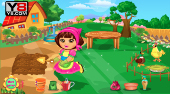 Dora at the Farm | Free online game | Mahee.com