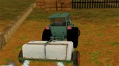 Tractor Farm Parking