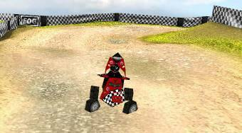 3D Quad Bike Racing | Free online game | Mahee.com