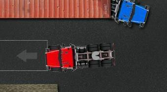 Truck Parking Space - online game | Mahee.com