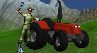 Tractor in Farm - online game | Mahee.com