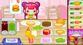 Cute Burger | Free online game | Mahee.com