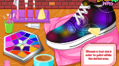 DIY Galaxy Shoes | Free online game | Mahee.com