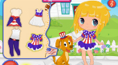 Baby Around the World: USA | El juego online gratis | Mahee.es