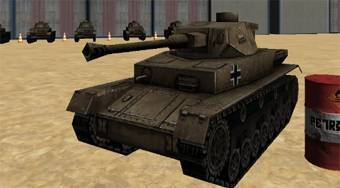 3D Army Tank Parking | Mahee.fr