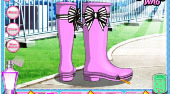 DIY Stylish Rain Boots | Mahee.fr