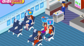 Julia the Stewardess | Jeu en ligne gratuit | Mahee.fr