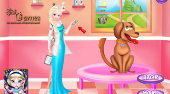 Elsa Animal Hospital | Free online game | Mahee.com