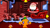 Monkey Go Happy North Pole - Game | Mahee.com