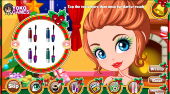 Christmas Dress Up and Make Up | Free online game | Mahee.com