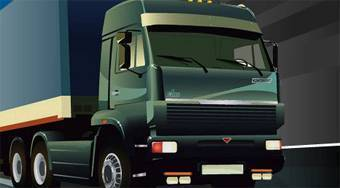 Park My Big Rig - online game | Mahee.com