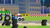 Sports Heads Racing - online game | Mahee.com