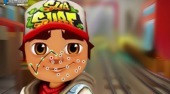 Subway Surfers Face Tattoo - online game | Mahee.com
