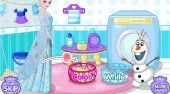 Elsa's Dirty Laundry - Game | Mahee.com