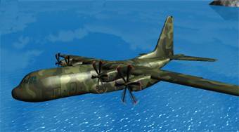Flight Simulator C-130 - online game | Mahee.com