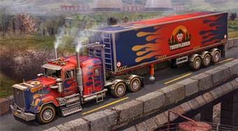 3D Parking Thunder Trucks | Mahee.com