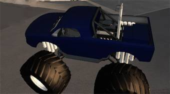 Monster Truck City Driving Sim - jeu en ligne | Mahee.fr