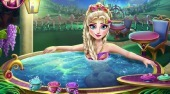 Elsa Jacuzzi Celebration - online game | Mahee.com
