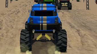 Monster Truck Rally | Free online game | Mahee.com