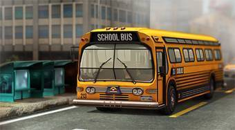 3D Parking School Bus Mania - jeu en ligne | Mahee.fr