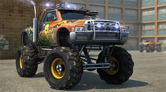Monster Trucks 3D Parking - jeu en ligne | Mahee.fr
