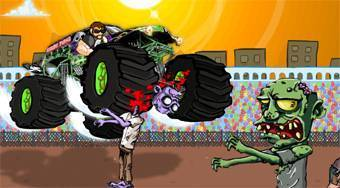 Monster Truck Zombie Crusher | Free online game | Mahee.com