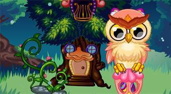 Cute Owl - online game | Mahee.com