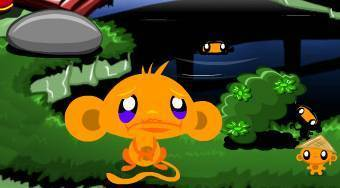 Monkey Go Happy Ninjas | Mahee.fr