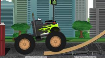 Monster Truck Ultimate Playground | Free online game | Mahee.com