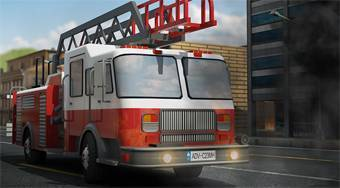 Fire Truck Dash 3D Parking - Game | Mahee.com