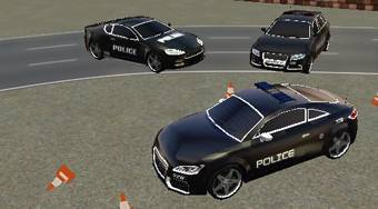 Police Parking Extreme - online game | Mahee.com