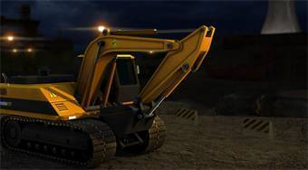 Heavy Excavator 3D Parking - online game | Mahee.com