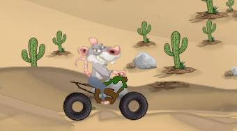 Rat on a Dirt Bike - Game | Mahee.com