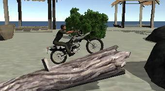 Bike Tricks Hawaii Trails - El juego | Mahee.es
