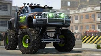 Zombie Truck Parking Simulator | Free online game | Mahee.com