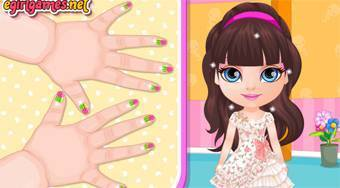 Baby Barbie Kawaii Nails - online game | Mahee.com