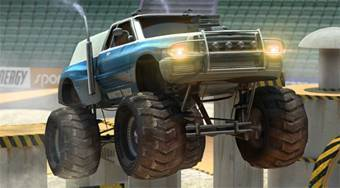 Monster Truck 3D Arena Stunts | Mahee.es