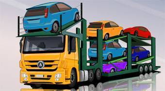 Car Carrier Trailer - Game | Mahee.com