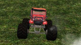 4x4 Monster Truck - online game | Mahee.com