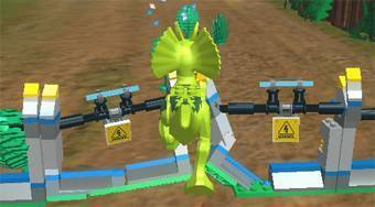 Lego: Jurassic World - online game | Mahee.com