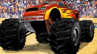 Monster Truck Survival - online game | Mahee.com