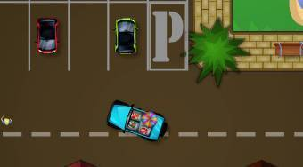 Spring Break Parking | Free online game | Mahee.com